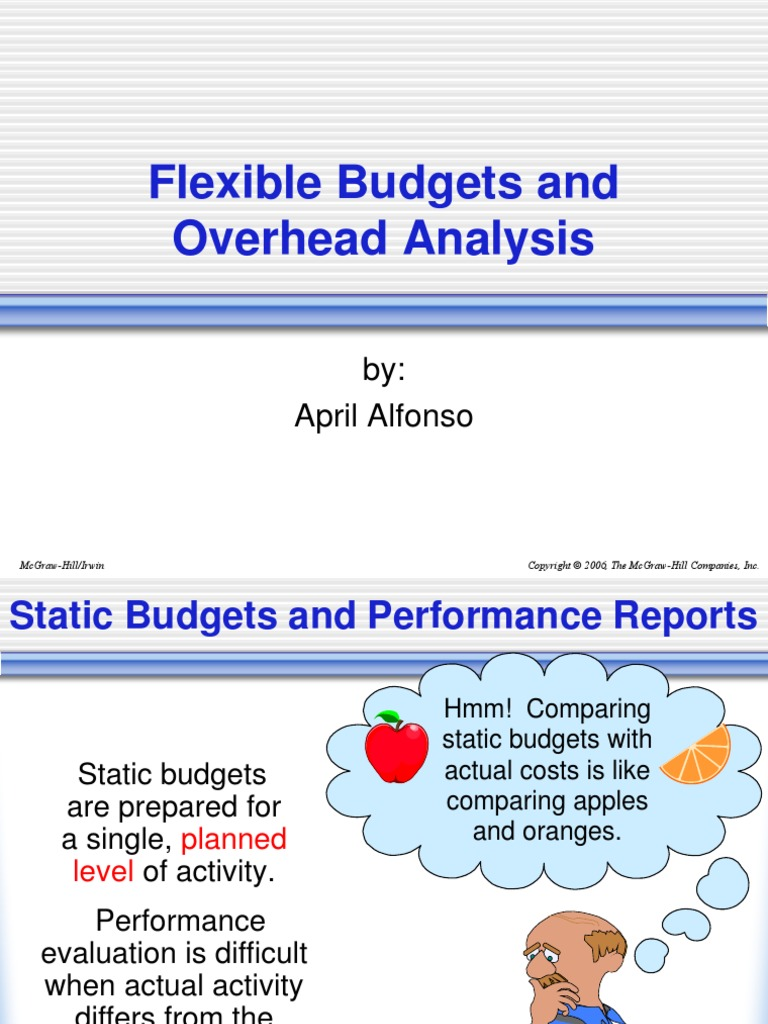 static budgets are used by
