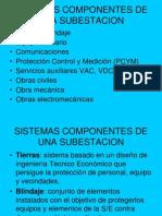 Sistemas Componentes de Una Subestacion