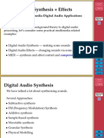 Audio Synthesis
