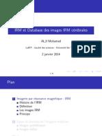 IRM et Database des images IRM cérébrales
