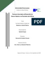 Factores Asociados Al Desarrollo de CG