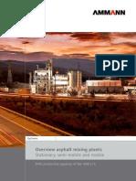 Ammann Asphalt Mixing-plant Brochure En