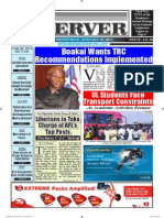 Liberian Daily Observer 01/30/2014