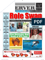 Liberian Daily Observer 01/31/2014