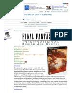 [PS2] Final Fantasy XII International Zodiac Job System v0.22 [ENG_NTSC] __ RuTracker.org (Ex Torrents