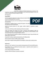 CNC Programmer Job Description Posting