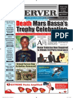 Liberian Daily Observer 02/03/2014