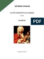 VIVALDI FLUTE CONCERTO G.MINOR