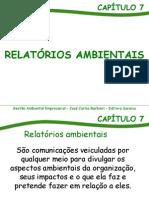 059_7 - Relatórios Ambientais