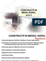 Constructii in mediul rural