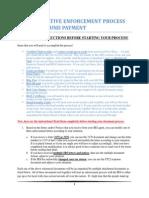 00018 1- Instructions - Enforcement Process