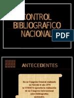 Control Bibliográfico