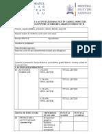 Fişa de evaluare a activităţii didactice, gradul II- modificată adresa MEN, 1 FEB 2013