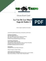 Card, Orson Scott - Ender 2 _ La Voz de Los Muertos