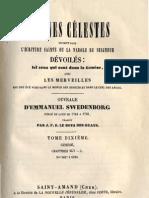 Em Swedenborg ARCANES CELESTES TomeDixieme 2sur2 Genese XLVIII L Numeros 6216 6626 LeBoysDesGuays 1853