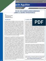 Articulo No1 El Impacto de Los Clorofluorocarbonos Sobre El Ozono Atmosfrico
