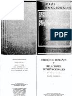 Hacia Una Transculturacion de Los Derechos Humanos 1979