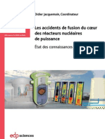 IRSN Livre Accidents Fusion Coeur 2013
