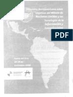 ENCUENTRO IBEROAMERICANO SOBRE OBJETIVOS DEL MILENIO DE NACIONES UNIDAS Y LAS TICS (parte A)