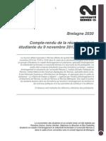 Compterendu concertation des étudiants de Rennes - DGLP