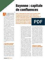 Bayonne, capitale de confluences - Faire Face Magazine - Février 2014
