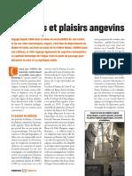 Douceurs et Plaisirs Angevins - Faire Face Magazine - Janvier 2014