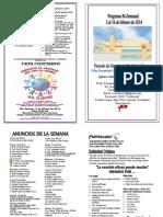 Boletín Informativo del 2 al 16 de febrero de 2014