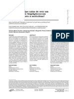 DM2012 #6 SCIH Colchões caixa de ovos e Staphylococcus aureus