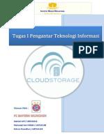 Tugas I Pengantar Teknologi Informasi (Cloud Storage)