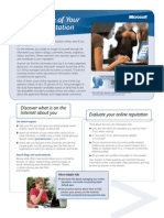 DPD_Taking Charge of Your Online Reputation_factsheet_098-116108_LoRes