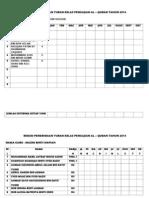 Rekod Penerimaan Yuran Kelas Pengajian Al