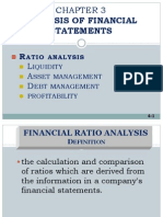 3 - Financial Ratio Analysis