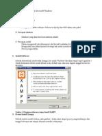 Langkah Install Xampp