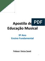 Apostila completa Edu musical 9° ano