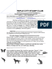 The Triple City Stamp Club Sept 2009 First Newsletter