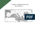 Mapa Mediterrâneo