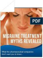 Migraine Treatment Myths Revealed PDF