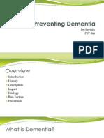Preventing Dementia Presentation 2