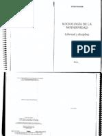 Wagner Sociología de la modernidad Obligatorio
