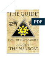 "THE GUIDE #19 - THE NEURON (Authored By Dr.Neb Heru for ""THE NUNOLOGIST"")"