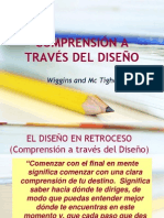 Comprension a Traves Del Diseno