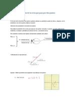 Ecuación de la recta que pasa por dos puntos.docx