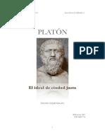 Platon_la Idea de Ciudad Justa