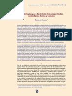 Metodologías para la síntesis de nanopartículas