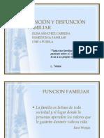DISFUNCIÓN FAMILIAR
