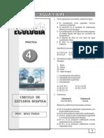 PRÁCTICA Nº 04 - ECOLOGÍA - AGUA Y AIRE