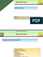 2.2 Etapas de Construccion Caminos
