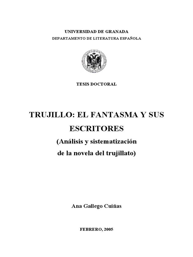 Trujillo, El Fantasma y Sus Escritores