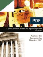 Apresentação Avaliação dos Professores CADI UFPR - COADD-2008