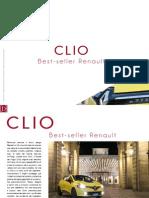 CLIO. Best - seller Renault